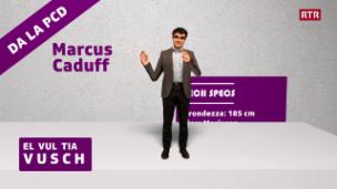 Laschar ir video «CandiCartoon - Marcus Caduff»