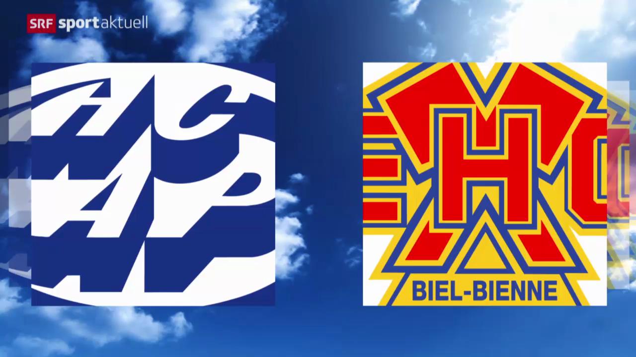 Eishockey: Ambri - Biel