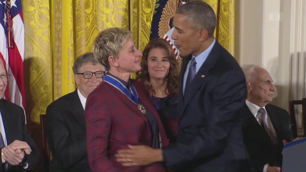 Barack Obama rührt zu Tränen