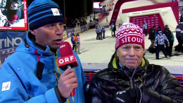 Video «Ski: FIS-Renndirektor Markus Waldner zum Drohnen-Zwischenfall in Madonna di Campiglio (Quelle: EVS)» abspielen