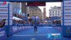 Video «Triathlon: WM-Serie Hamburg» abspielen
