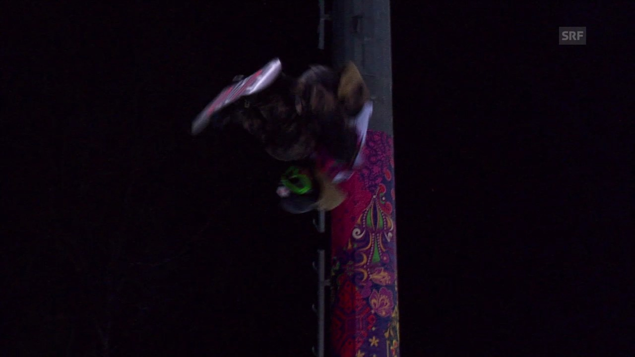 Snowboard-Halfpipe: 2. Final-Run von Taku Hiraoka (sotschi direkt, 11.02.2014)