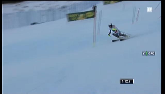 Ski: Slalom, 2. Lauf Wendy Holdener («sportlive»)
