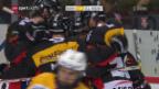 Video «Klarer SCB-Derbysieg dank Startfurioso» abspielen