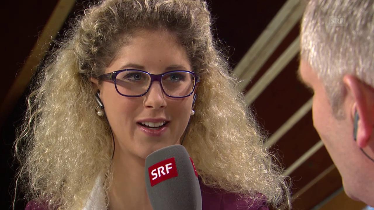 Eishockey: Spengler Cup, Jolanda Neff über ihren Unfall