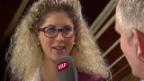 Video «Eishockey: Spengler Cup, Jolanda Neff über ihren Unfall» abspielen