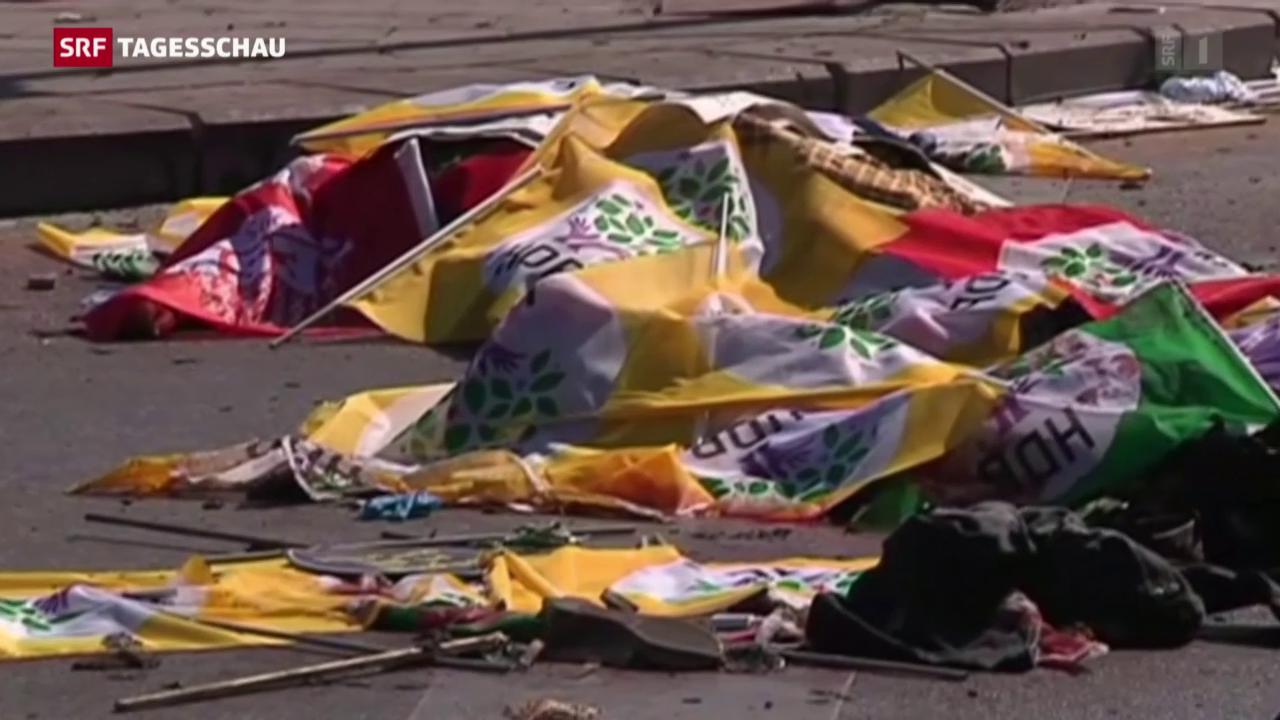 Blutiger Anschlag in Ankara