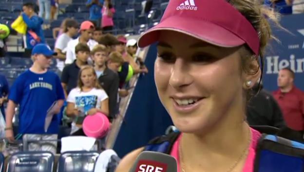 Video «Belinda Bencic: Tennishoffnung aus» abspielen