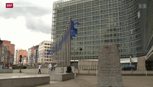 Video «Weitere Gesprächsrunde in der Griechenland-Krise» abspielen