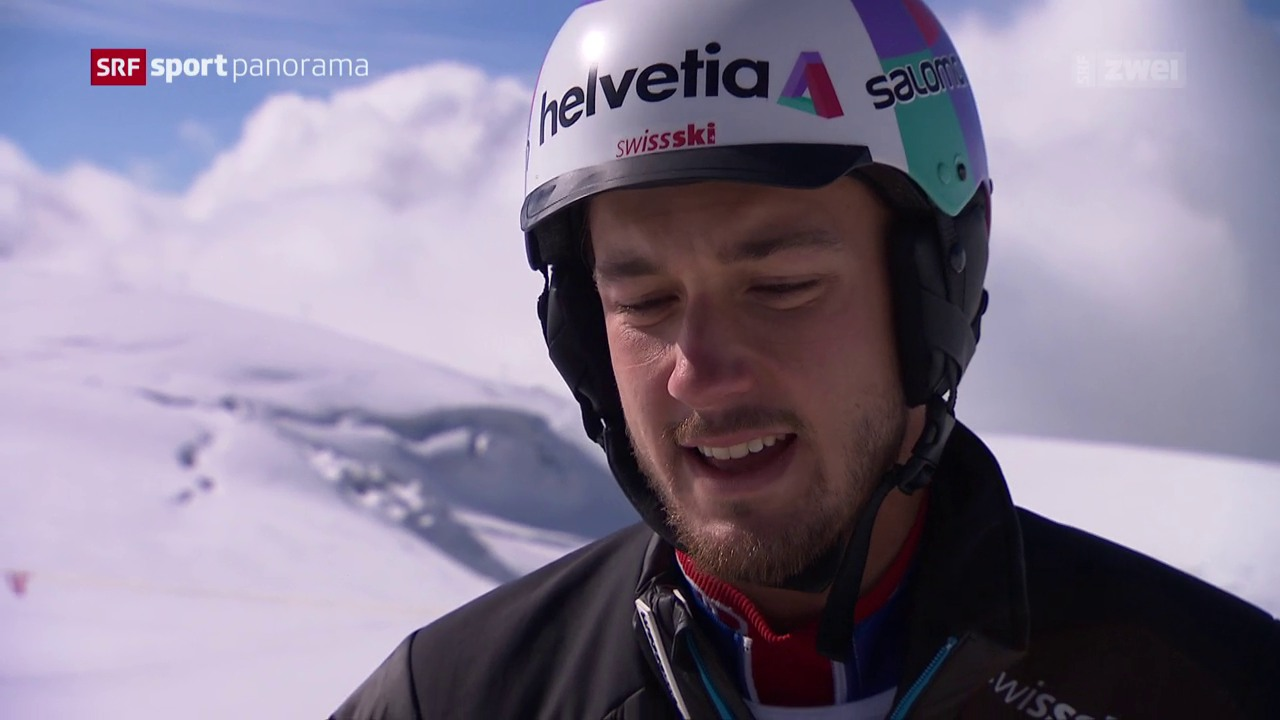 Luca Aerni bereitet sich auf die Ski-Saison vor