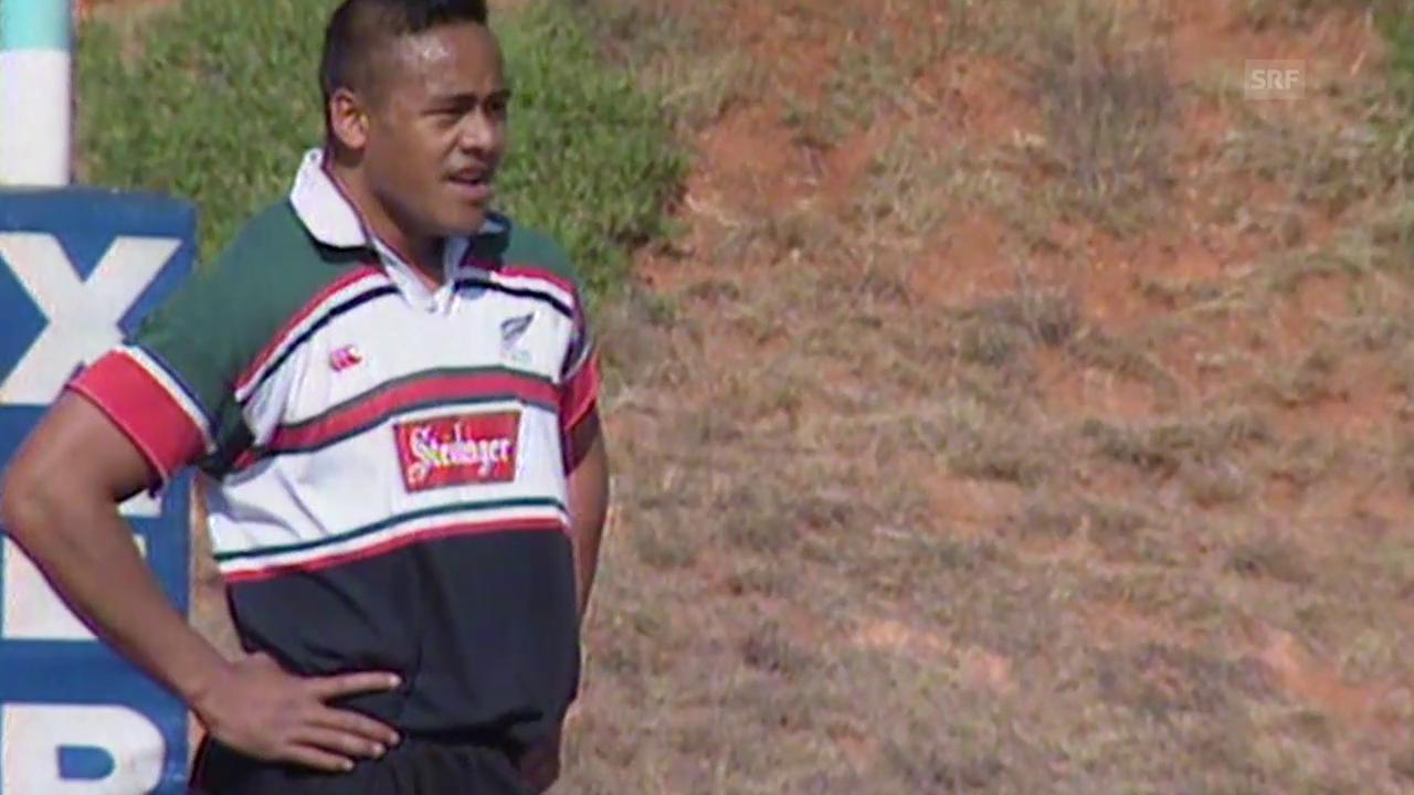 Rugby: Jonah Lomu - der erste Rugby-Superstar
