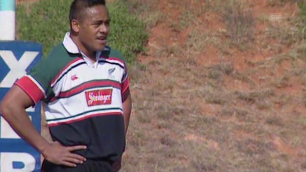 Video «Rugby: Jonah Lomu - der erste Rugby-Superstar» abspielen