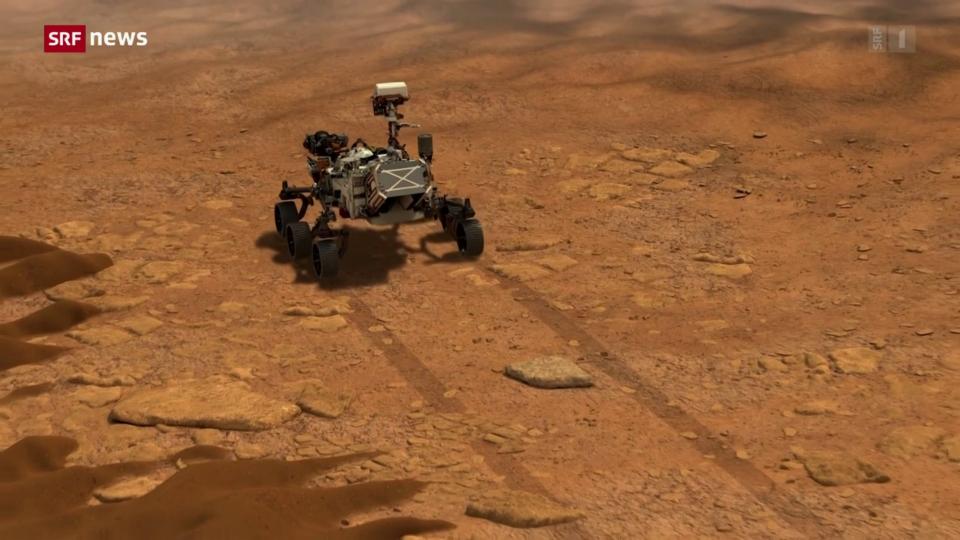 NASA-Rover Perseverance landet auf Mars