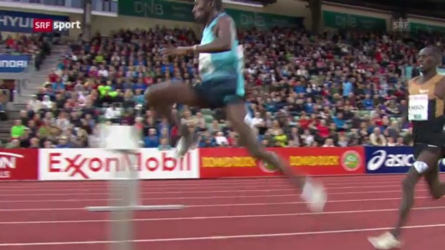 Video «Diamond-League-Meeting Oslo: 3000 m Steeple» abspielen
