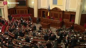Video «Ukrainische Opposition verliert Misstrauensvotum gegen Regierung» abspielen