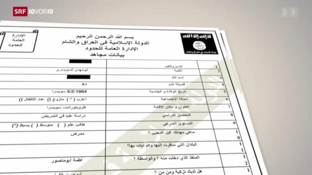 Video «Interne IS-Dokumente aufgetaucht» abspielen