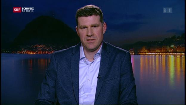 Video «Daniel Schäfer zu ersten Reaktionen» abspielen