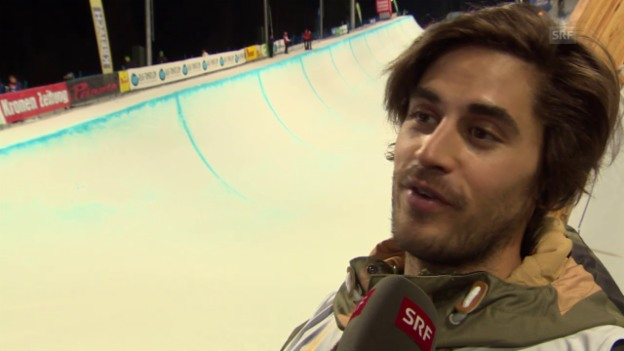 Video «Freestyle-WM: Interview mit Yannic Lerjen» abspielen
