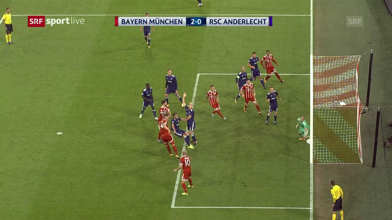 Ohne Probleme, ohne Glanz: Bayern schlägt Anderlecht