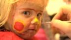 Video «Fasnachts-Schminke mit heiklem Inhalt» abspielen