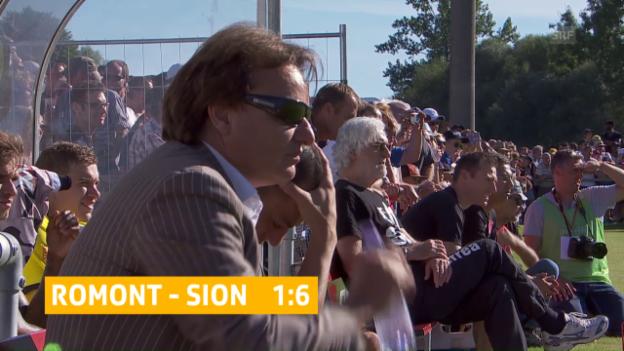 Video «Constantin coacht seinen FC Sion zum Sieg» abspielen
