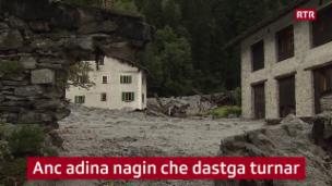 Laschar ir video «A Bondo èsi stà calm la fin d'emna»