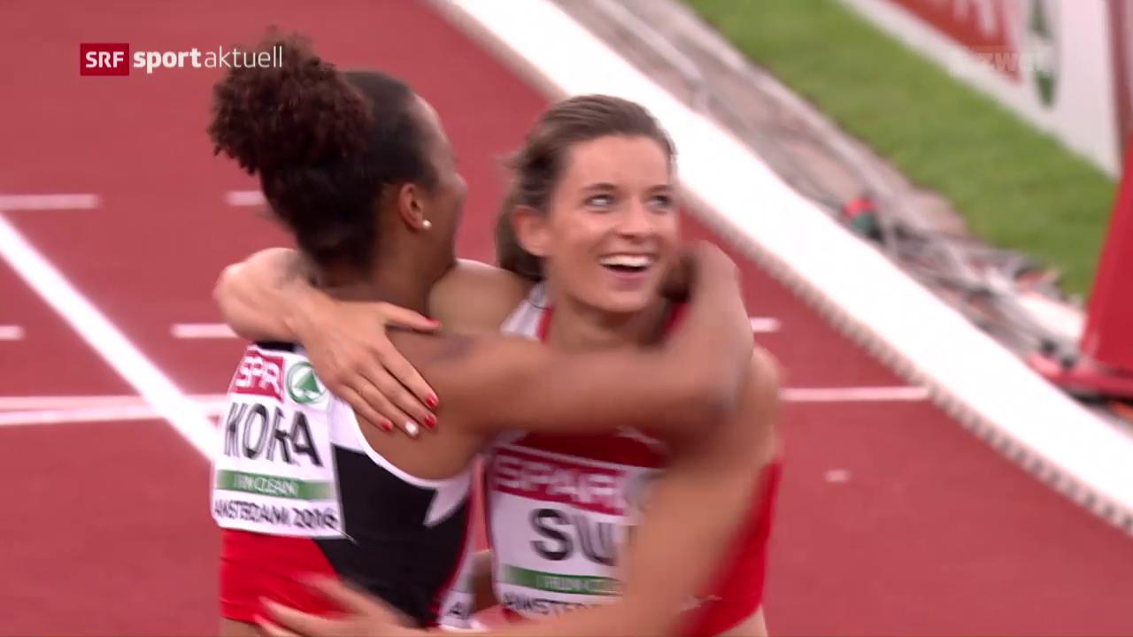 Die Schweizer an der EM: Staffel läuft Rekord