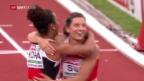 Video «Die Schweizer an der EM: Staffel läuft Rekord» abspielen