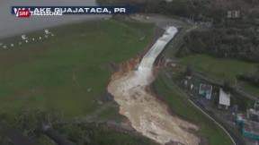 Video «Bewohner von Puerto Rico kämpfen mit Folgen von Hurrikan «Maria» » abspielen