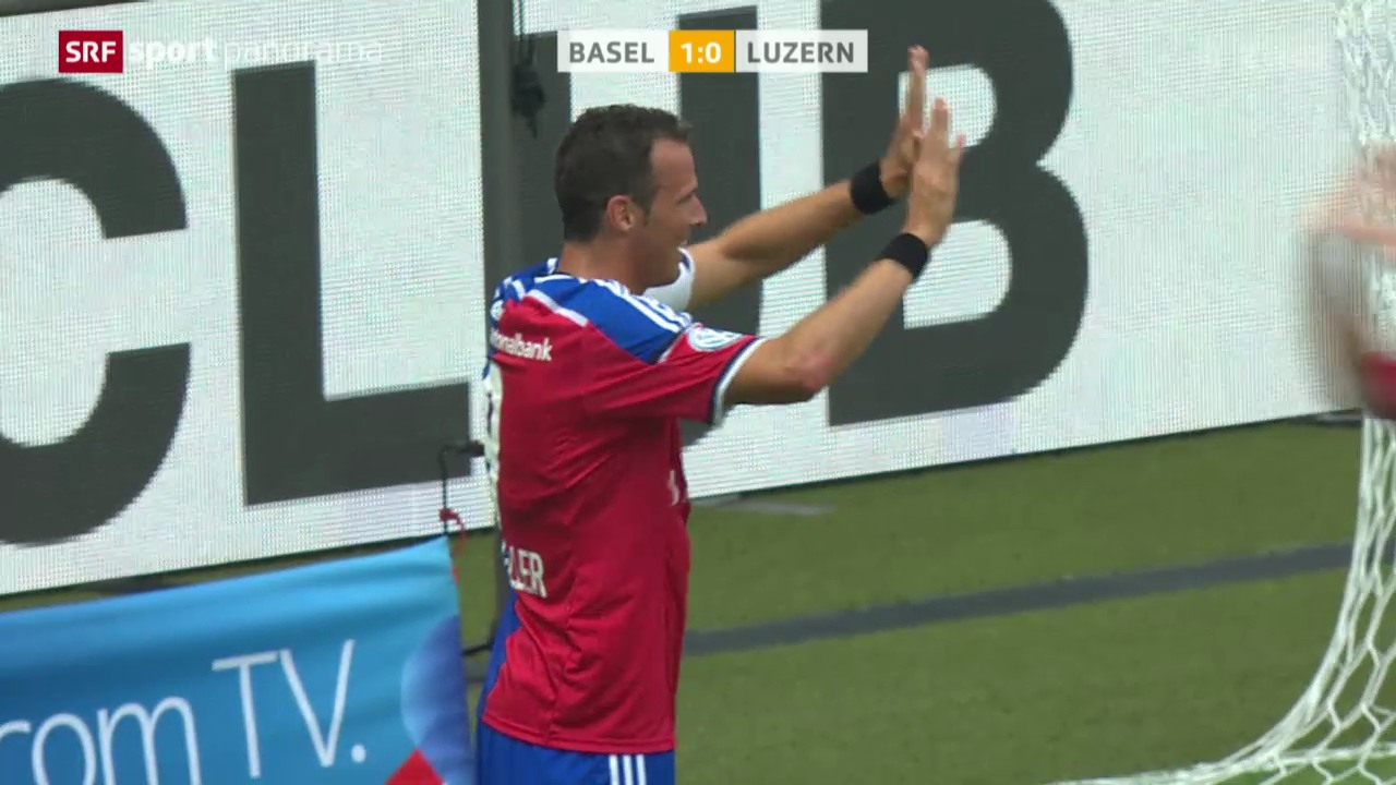 Fussball: Super League, Basel - Luzern