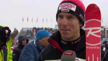 Video «Ski: Super-G Saalbach, Interview Janka» abspielen