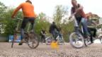 Video «Faltvelos im Test: Das Fahrrad fürs Handgepäck» abspielen