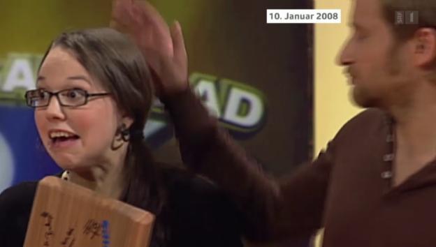 Video «Stefanie Heinzmann über ihren Sieg bei Stefan Raab» abspielen