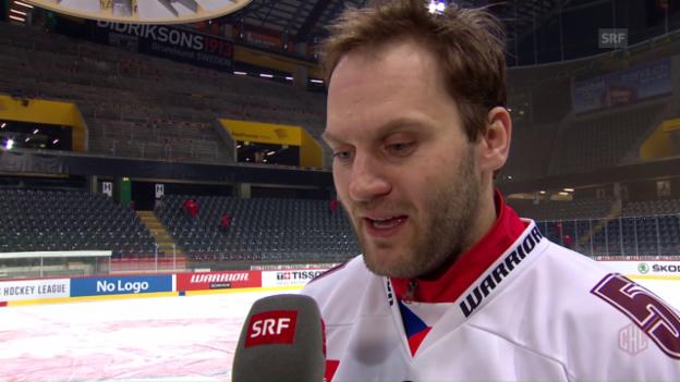 Video «Jaroslav Hlinka: «Hoffentlich kommen 8000 Zuschauer»» abspielen