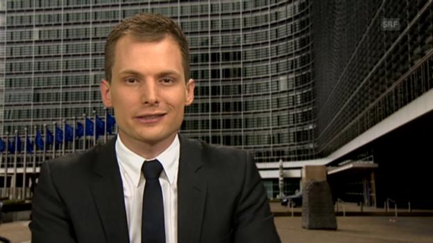 Video «Einschätzung von SRF-Korrespondent Jonas Projer aus Brüssel» abspielen