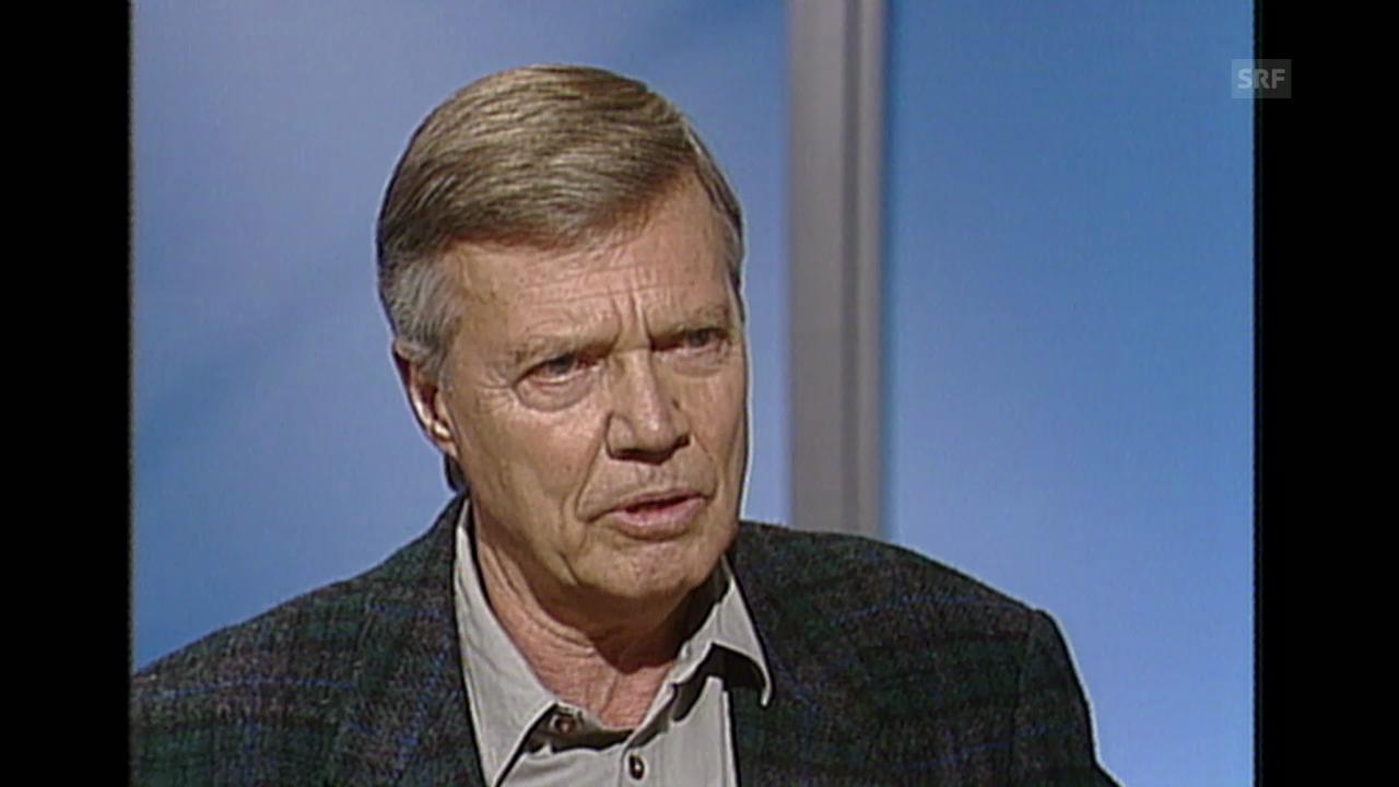 Karheinz Böhm im Sonntagsinterview (24. März 1991)