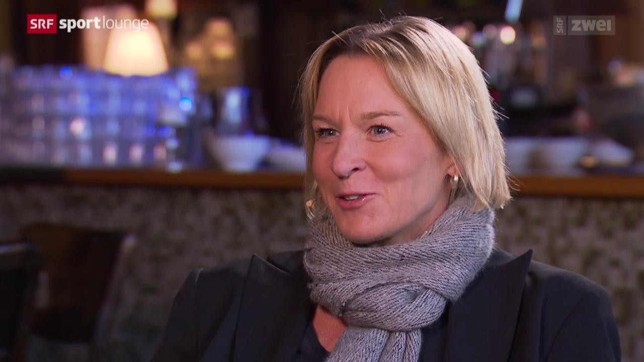 Martina Voss-Tecklenburg im Gespräch