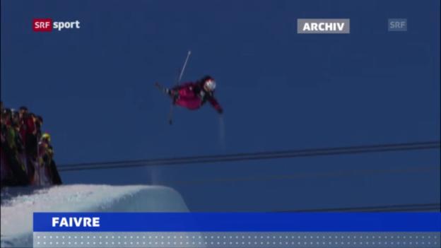 Video «Ski-Freestylerin Faivre gewinnt in Sotschi («sportaktuell»)» abspielen