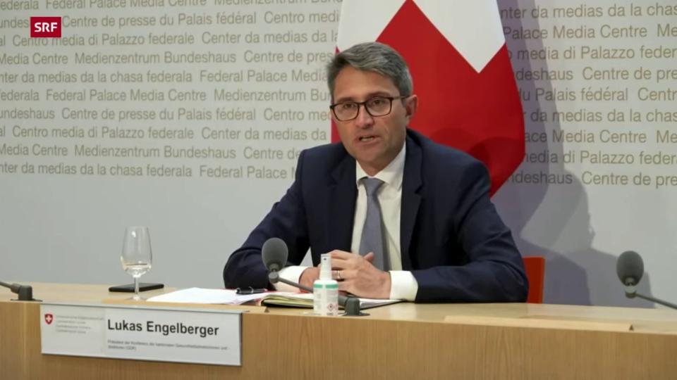 Engelberger: «Wir behalten uns vor, die Maskenpflicht in Bildungseinrichtungen wieder einzuführen»