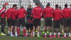 Video «Letztes Training der Schweizer Nati» abspielen