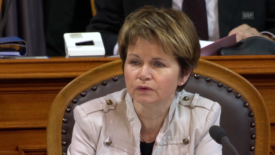 Brigitte Häberli-Koller (CVP/TG) begründet ihre konservative Haltung