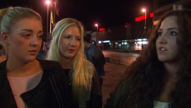 Video «Anmachen auf der Strasse: Junge Frauen übers Ausgehen» abspielen