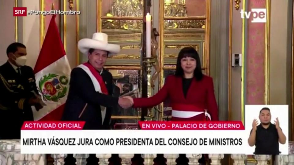Mirtha Vázquez als neue Kabinettschefin vereidigt
