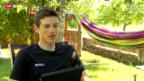 Video «Mathias Frank und der Rückblick auf die Tour de Suisse» abspielen