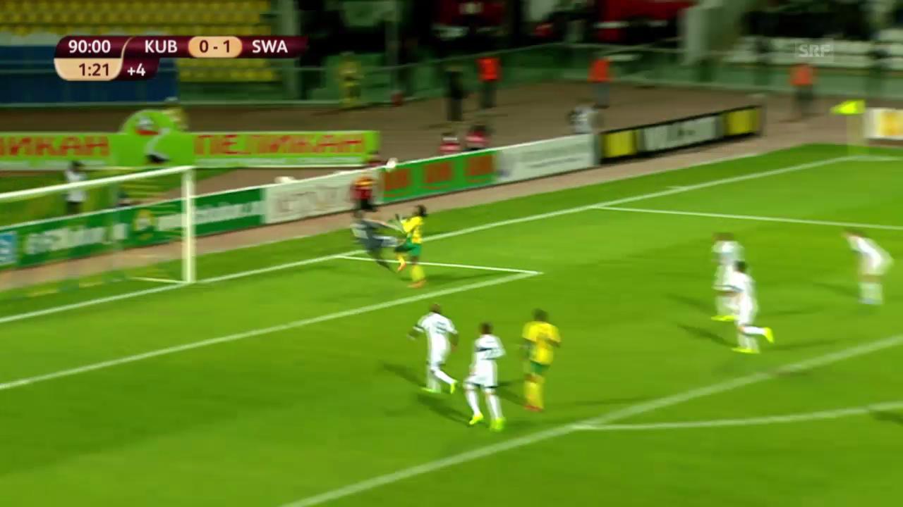 Spielbericht Krasnodar - Swansea («sportlive»)