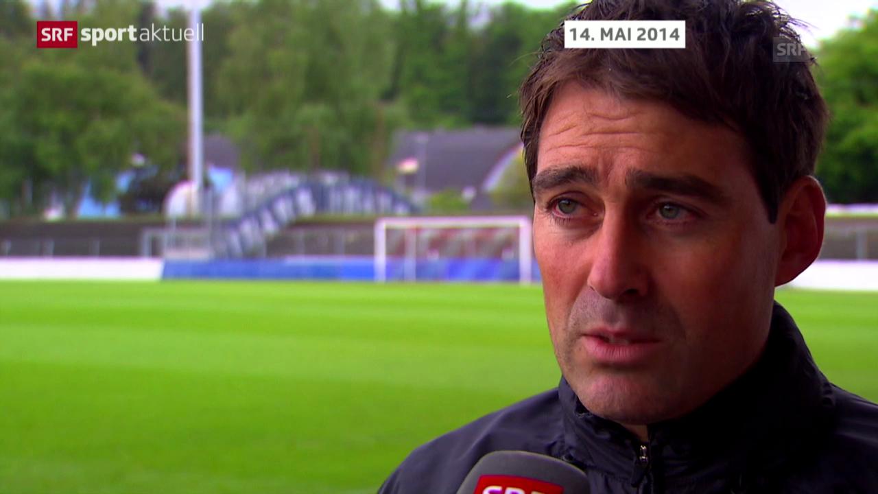 Weiler tritt als Aarau-Trainer zurück («sportaktuell» vom 21.05.14)