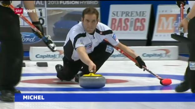 Video «Curling-WM: Schweiz unterliegt Schweden» abspielen