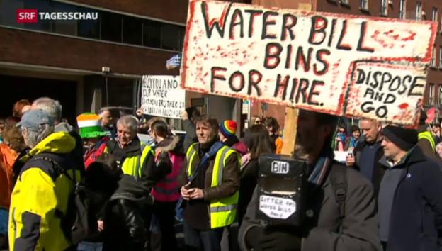 Video «Wasser kostet jetzt auch in Irland etwas» abspielen