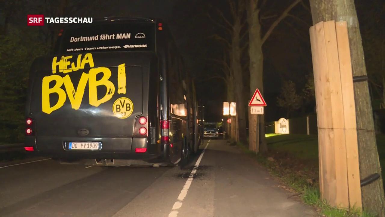 Anschlag auf Team in Dortmund