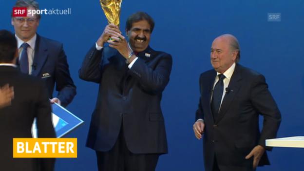 Video «Fussball: FIFA schaltet Bundesanwaltschaft ein» abspielen